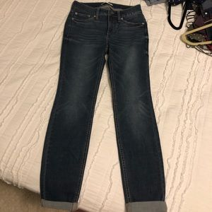 Lauren Conrad Cuffed Skinny Jean